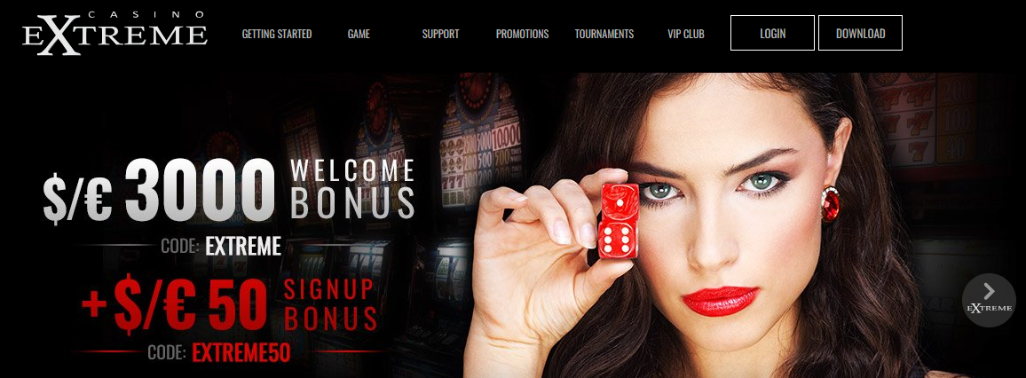 casino extreme welcome bonus