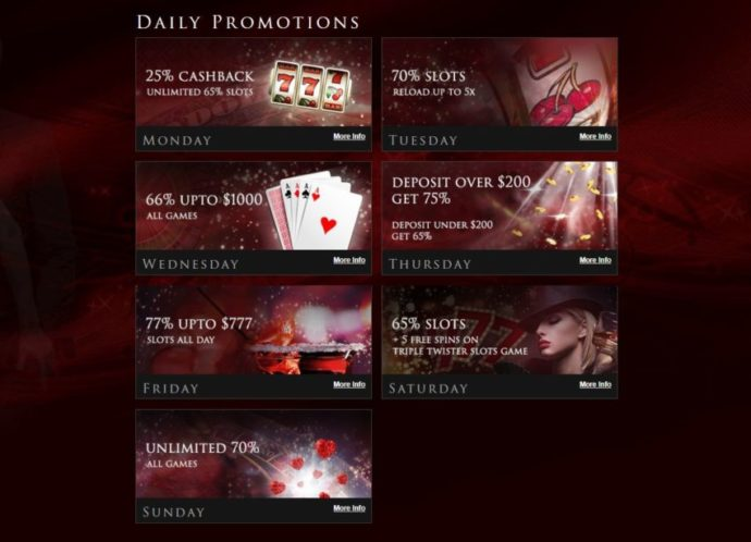 lucky red no deposit bonus